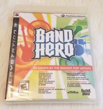 Band Hero - PlayStation 3 PS3 - Game Only Factory Refurbished & Sealed