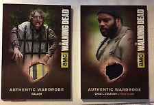 "The Walking Dead S4 Authentic Waredrobe Card Chad Coleman as TYRESSE M19 ""thick"""