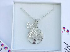 Tree of Life 13th 16th 18th 21st 30th 40th 50th 60th Birthday Necklace Gift