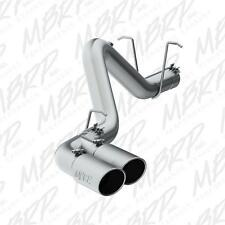 FITS 16 CHEVY 6.6L DURAMAX  MBRP 4'' DUAL INSTALLER SERIES DPF-BACK EXHAUST.
