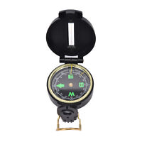 Metal Lensatic Compass Military Camping Hiking Style Survival MarchingKRFS MR