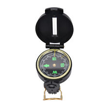 Metal Lensatic Compass Military Camping Hiking Army Style Survival Marching JL