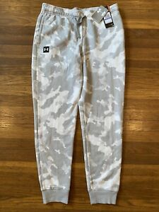 Girls Boys NWT UNDER ARMOUR camo joggers size YXL youth extra large, Great Gift!
