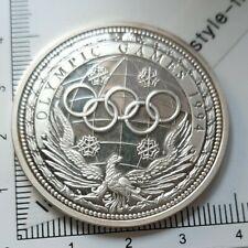 H03103 Médaille argent lillehammer 1994 saut à ski Ag999 michael gode JO