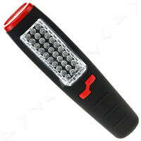 Cordless Magnetic 30+7 LED Inspection Lamp Torch Flashlight Light Camping