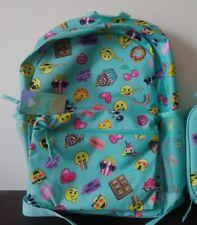 6ca6ede049 The Children s Place Kids Girls Emoji Backpack Aqua Blue NEW