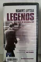 Legends by Robert Littell: Unabridged Cassette Audiobook (BB5)