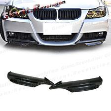 3K Carbon Front Bumper Splitter Lip For BMW 05-08 E90 E91 328i 330i M-Sporty 4DR