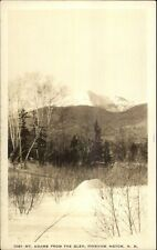 Pinkham Notch White Mtns in Winter Shorey #1091 Real Photo Postcard