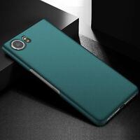 For Blackberry Keyone Shockproof Matte Sandstone / Smooth Hard Back Case Cover