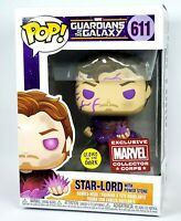 Star-Lord Funko POP Glow GITD Marvel Collector Corps Guardians of the Galaxy NEW