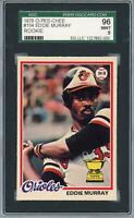 Eddie Murray Baltimore Orioles 1978 Topps O Pee Chee #154 SGC9 Card - O Pee Chee
