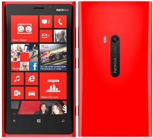 Nokia  Lumia 920 - 32GB -RED (Unlocked) window Smartphone -boxed+ accessories