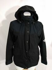 The North Face Hydroseal Rain Hooded Jacket Coat Womens XS X Small  Black