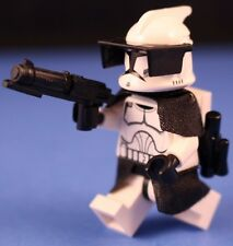 LEGO® STAR WARS™ 8014 White CLONE COMMANDER + Blasters Backpack & ARMOR