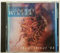 JOHNNY WINTER The Winter of '88 CD (1988 Voyager Records MCAD-42241) RARE OOP VG