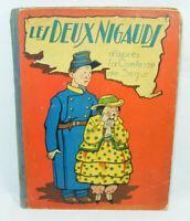 Livre d'enfant ancien LES DEUX NIGAUDS Ségur de Touchet années 20 30 environ