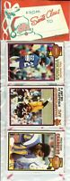1979 Topps Football Holiday Christmas Rack Pack HOF Newsome Shell Campbell RC?A5