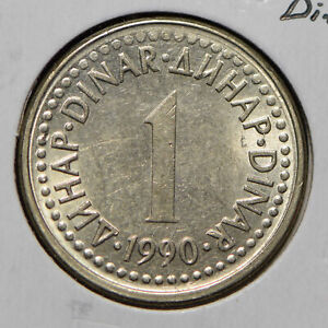 Yugoslavia 1990 Dinar  901053 combine shipping