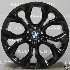 """GENUINE BMW X5/X6 451M SPORT BLACK 20""""INCH ALLOY WHEELS X4, F15/F16/E70/E71/E53"""