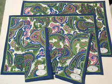 New listing Placemats with Matching Napkins