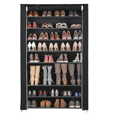 Schuhschrank Schuhregal Stoffschrank für 54 Paar Schuhe Regal 10 Ebenen RXJ00H