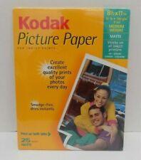 "Kodak Picture Paper 8.5"" x 11"" Matte Finish - Medium Weight 25 Sheets / Sealed"