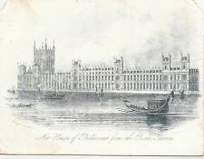 BF12362 london house of parliament united kingdom front/back image