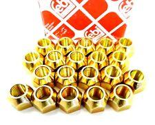 20x RADSCHRAUBE RADMUTTER SMART NISSAN MITSUBISHI  M12x1,25 SW21 VA HA FORFOUR