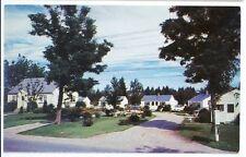 Cape Cod Cottage Motor Court Shelburne Nova Scotia Canada Postcard