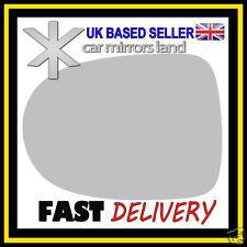 Left Passenger Wing Mirror Glass Replacement RENAULT CLIO 2009-2012 STICK ON