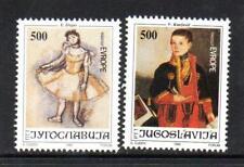 YUGOSLAVIA MNH 1992 SG2819-2820 24TH JOY OF EUROPE MEETING