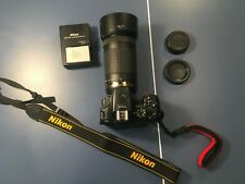 Nikon D5500 Camera with Nikkor 70-300mm 4.5-6.3g ED Lens