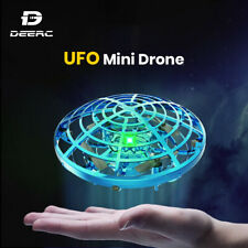 Hand Operated Mini Drone Flying Ball UFO Motion Sensor Helicopter Gifts Kids Toy