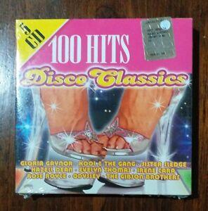 100 Hits Disco Classics Cofanetto 5 Cd nuovo sigillato