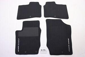 New OEM 2010-2013 Kia Forte Koup Black 2 door Carpeted Floor Mats Front Rear set