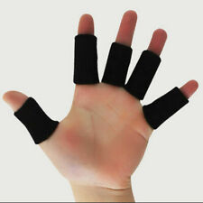 10Pcs Sports Finger Sleeve Support Brace Basketball Thumb Compression Protector