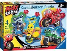 Ravensburger - Ricky Zoom 4 Large Shaped Puzzles - BRAND NEW