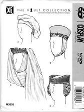 Schnittmuster McCall's M 2026: Hüte, Mittelalter und Renaissance