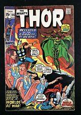 Thor (1966) #186 VG- (3.5) vs Hela John Buscema art