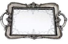 Maison Chic Venetian Mirror Table Serving Tray Portable
