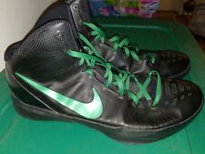 a14b5c4926e4 SAMPLE 2012 Nike Zoom Hyperdunk Elite Mens Size 17 Black Green 511369-009