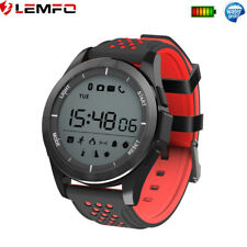 Lemfo Bluetooth Impermeable Sport Reloj Inteligente Podómetro For Android iPhone