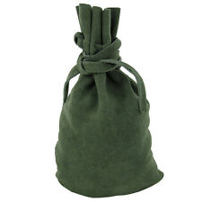 Medeival Renaissance Drawstring Master Artisan Suede Bag Costume Accessory