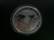 2011 $1 AUSTRALIAN KOALA 1oz SILVER BULLION  COIN PERTH MINT