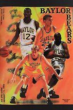 1995 Baylor University vs SMU Basketball Program Ferrell Center Waco TX