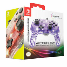 Nintendo Switch Controller Afterglow Wired (Deluxe) PRISMATIC LED Lighting Mario