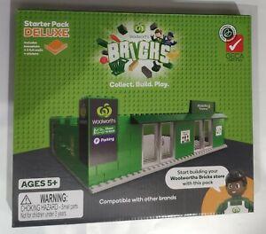 Woolworths Bricks Starter Pack Deluxe Kit RARE WOOLIES