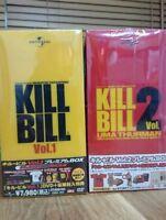 KILL BILL Premium DVD-BOX 1&2 LTD UMATHURMAN CHIAKIKURIYAMA Be@rbrick JAPAN F/S