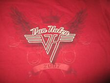 2007 Van Halen Concert Tour (Girl's Med) T-Shirt David - Alex - Eddie
